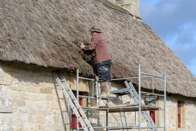 Causeway House roof thatching | Client: The Landmark Trust