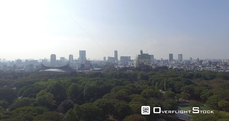 City Park and skyline Tokyo Japan -- Available in HD and 4k -- 4096 x 2160 - 2.4 GB - QuickTime Movie - Apple ProRes 422 - 62...