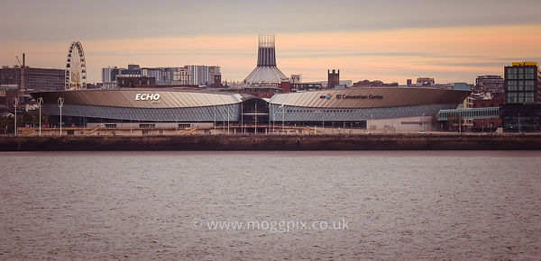 Liverpool: the Echo Arena, Cathedral and Convention Centre