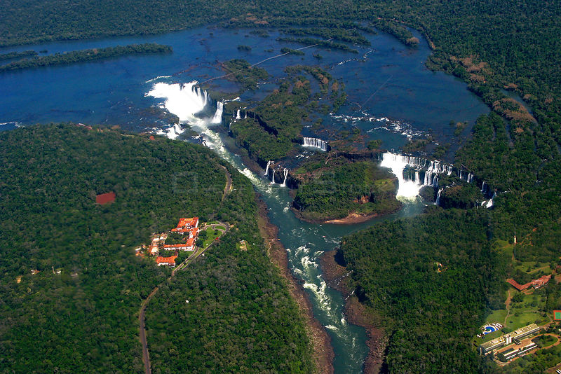 Iguazu waterfalls, Iguacu National Park, Argentina. UNESCO World Heritage Site, October 2008
