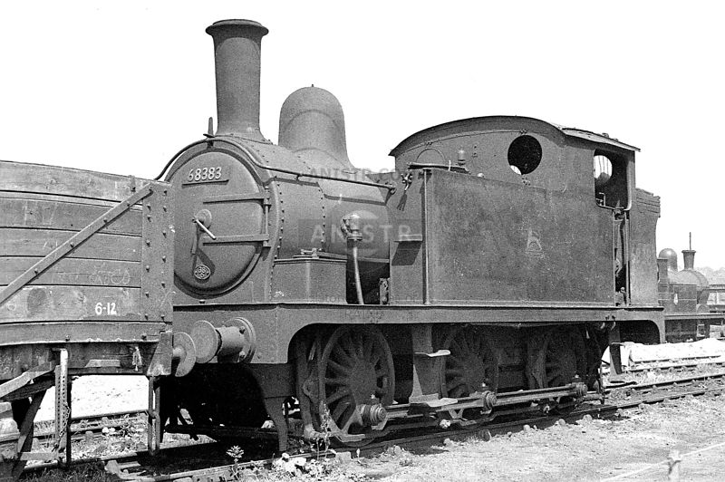 Steam loco J66 68383  Staveley
