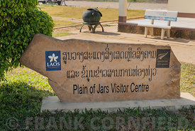 PHONSOVAN, LAOS - JANUARY 29, 2019: The Plain of Jars Vistor Center at Phonsovan in Laos.