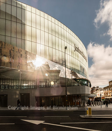 John Lewis store at Grand Central, Birmingham. For editorial usage.