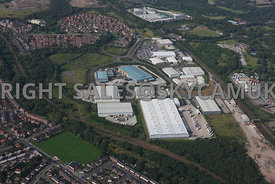 Manchester view of Agecroft Industrial Estate Agecroft Manchester