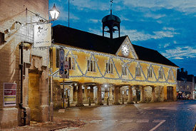 The Market House at Tetbury