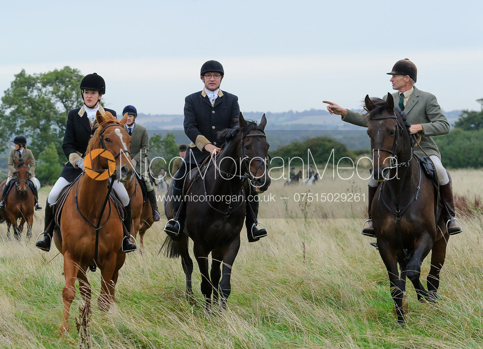John Knowles - The Cottesmore Hunt at Betts Barn 27/9