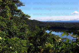 View over Lake Chalalan , Madidi National Park , Bolivia