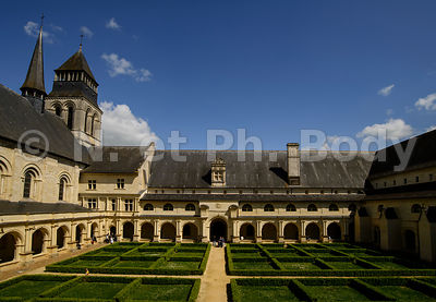 FRANCE, MAINE ET LOIRE, ABBAYE DE FONTEVRAUD//France, Maine et Loire, Fontevraud Abbaye, Loire Valley, Abbey Of Fontevraud, C...