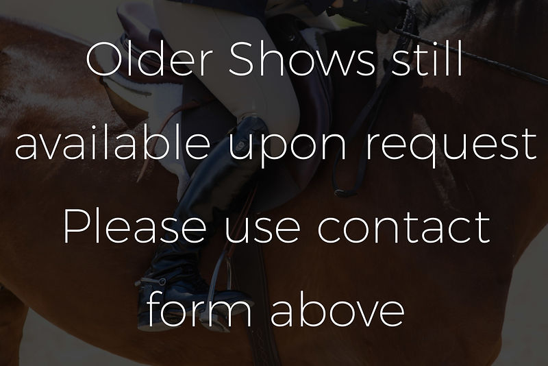 Older shows available