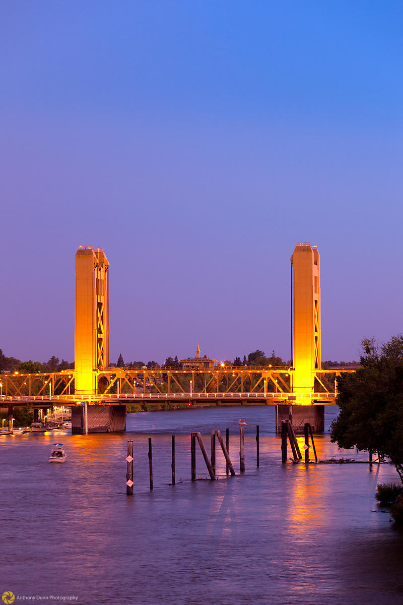 Tower Bridge over the Sacramento River #5