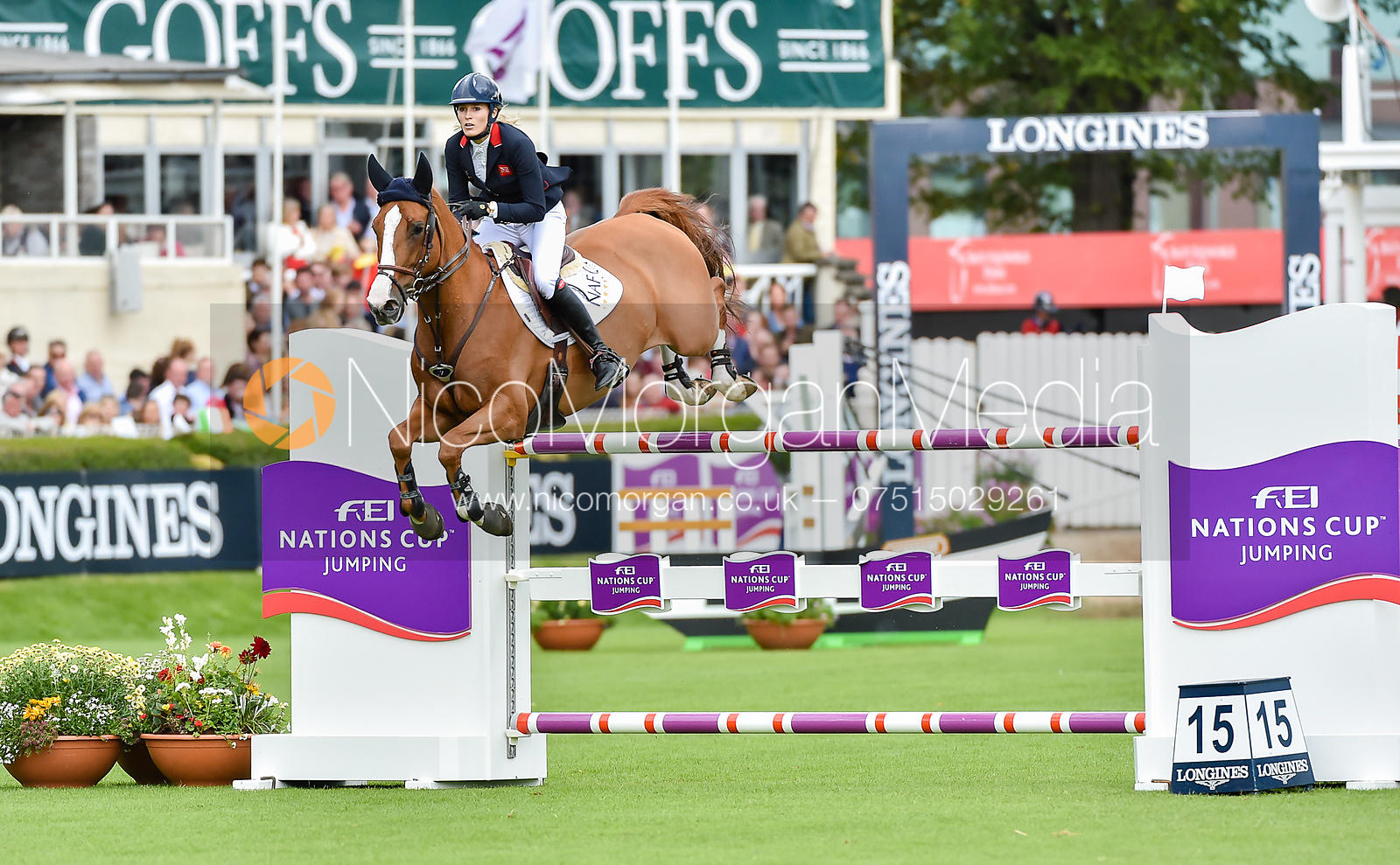 Jessica Mendoza and TOY BOY - FEI Nations Cup, Dublin Horse Show 2017
