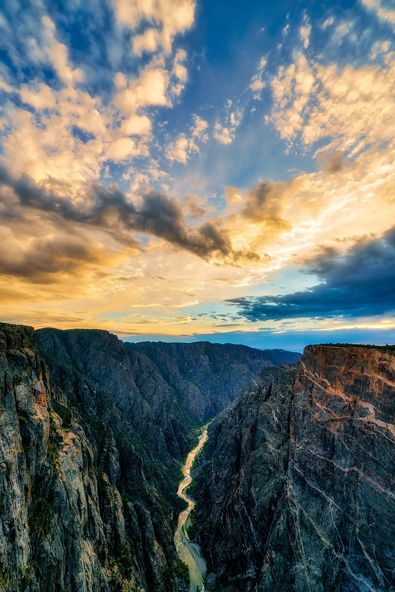 Black Canyon Sunset