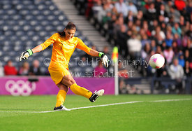 Women's Olympic Football, Hampden Park, Glasgow
