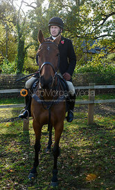 Russell Nearn at the meet. The Cottesmore Hunt at Tilton