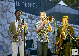 Tony Allen tribute to Art Blakey, Nice Jazz Festival, le 19 Juillet 2017