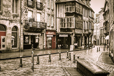 Europe, France, Bretagne, Dinan