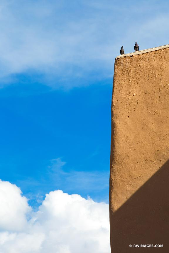 RANCHOS DE TAOS ST. FRANCIS ADOBE CHURCH TAOS NEW MEXICO ARCHITECTURE
