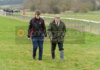 Walking the course - Mens Open - Cottesmore at Garthorpe