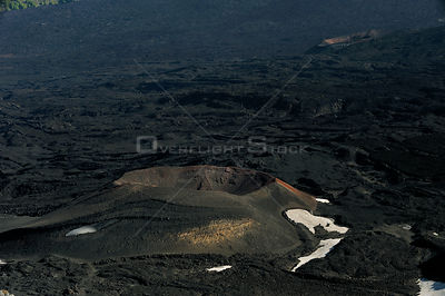 "Old Cones in the ""Valley del Bove"" the eastern side of Mount Etna Volcano, Sicily, Italy, May 2009"