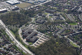 Manchester aerial photograph of Concord Business Park Simonsway Manchester Airport Wythenshaw