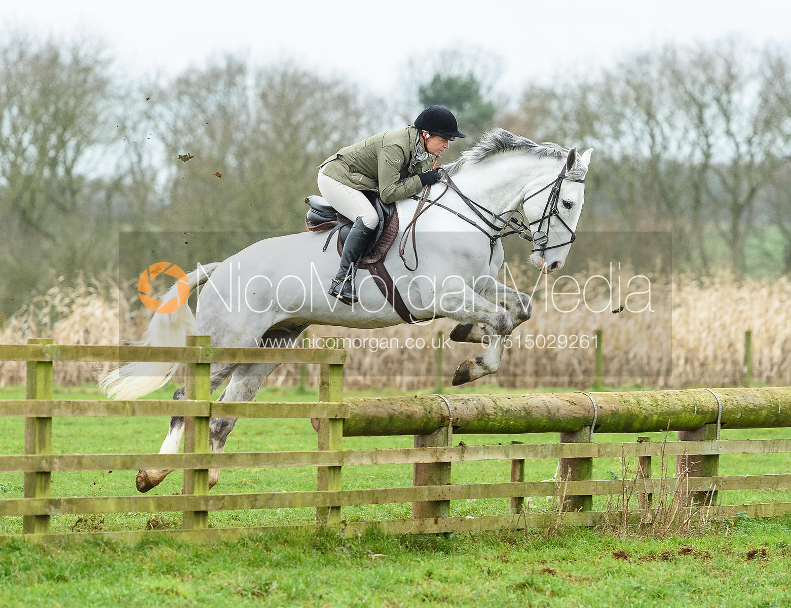 jumping a fence at Goadby Marwood 11/1
