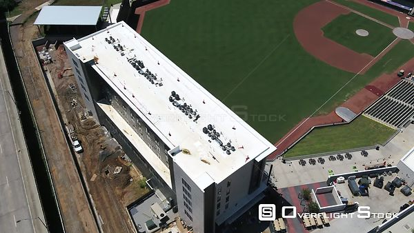 SRP Park Baseball Field Drone Aerial of Augusta Georgia
