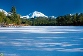 Mt Lassen from Manzanita Lake #2