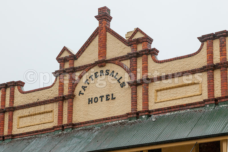 Architectural Detail on Hotel in Lithgow Australia