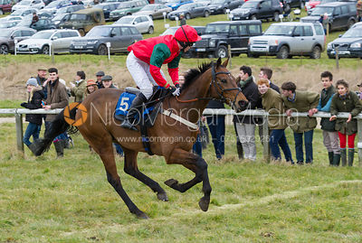 Tom Chatfeild-Roberts (L'ELDORADO) - Race 2- Garthorpe Hunts Club Members Race