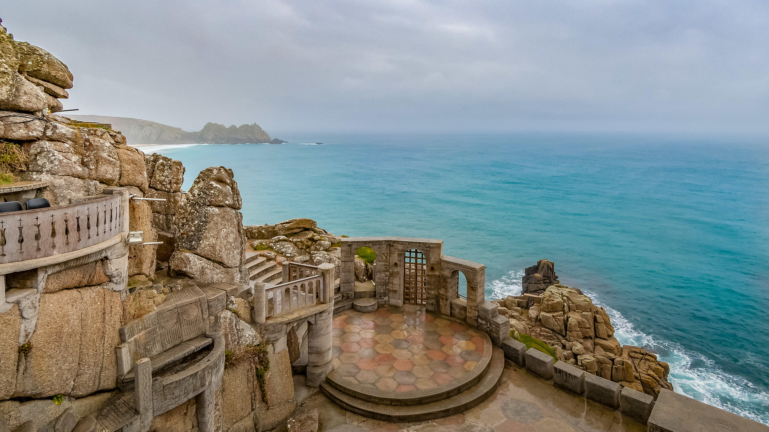 Minack Theatre On the Coast of Cornwall