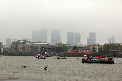 The Thames River Pageant