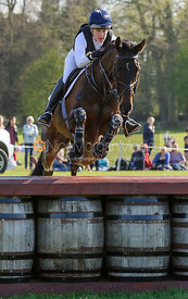 Kristina Cook and MINERS FROLIC - Cross Country - Mitsubishi Motors Badminton Horse Trials 2013.