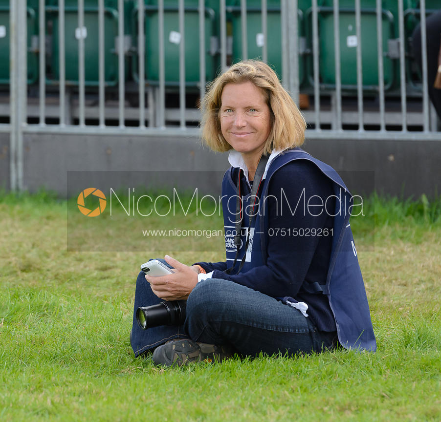 Samantha Clark - show jumping phase, Burghley Horse Trials 2014.