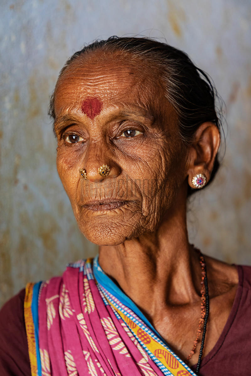 Portrait of a Woman from Parvathipuram
