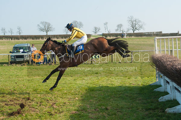 Ungaro (Heather Kemp)- Mixed Open - Belvoir Hunt Point to Point 24/3/12