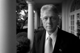 Il presidente William Clinton, The White House.
