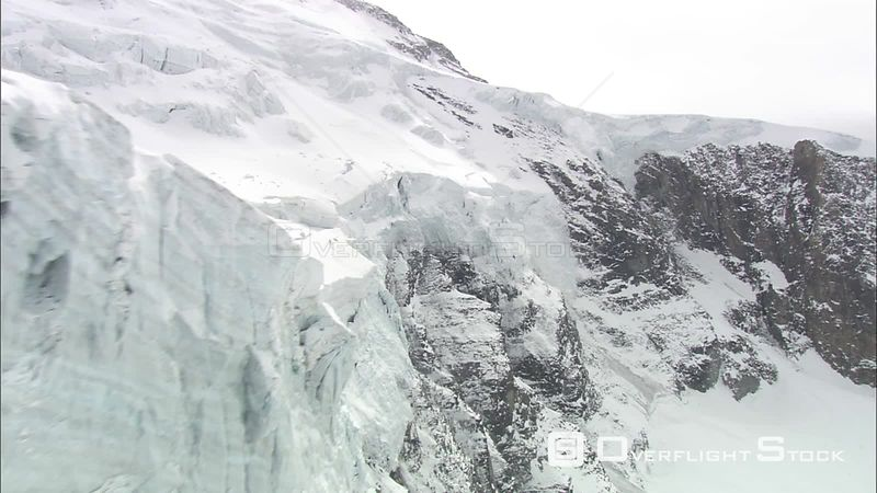 Glaciers in the French Alps
