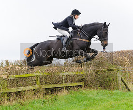 HB jumping at Stone Lodge Farm - The Cottesmore Hunt at Tilton on the Hill, 9-11-13