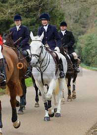 The Belvoir Hunt at Belvoir Castle