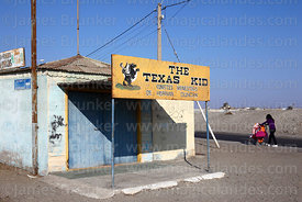 The Texas Kid restaurant, Mejillones, Region II, Chile