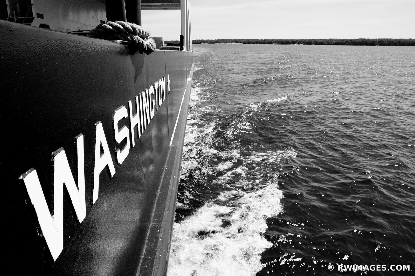 Framed Photo Print of WASHINGTON ISLAND FERRY DOOR COUNTY