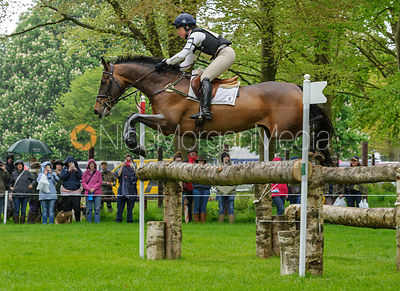 Pippa Funnell and BILLY BEWARE - Cross Country phase, Mitsubishi Motors Badminton Horse Trials 2014