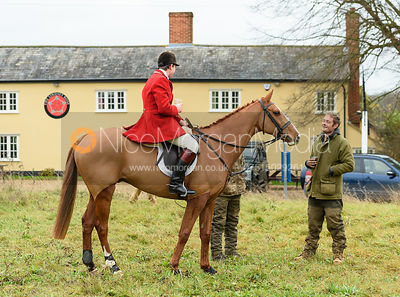 At the meet. The Holderness Hunt visit The Essex and Suffolk