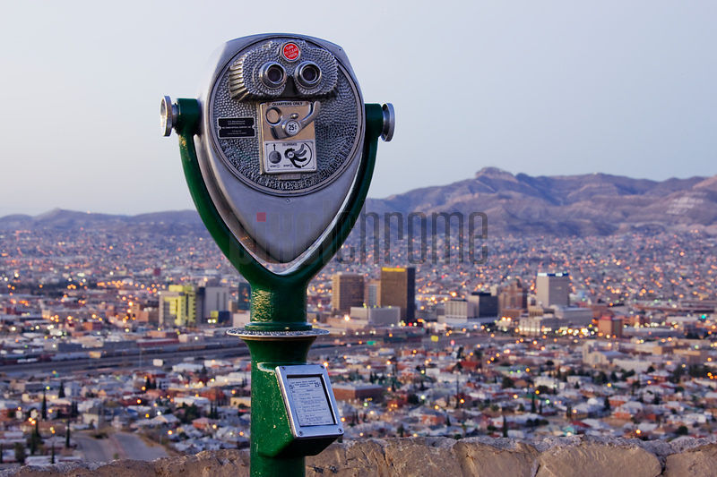 Coin-Operated Binoculars and El Paso Skyline