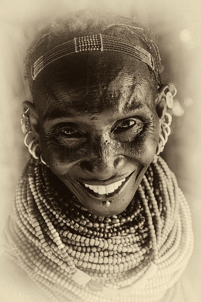 Portait of a Nyangatom Woman