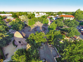 Aerial View of the Chico Plaza #1