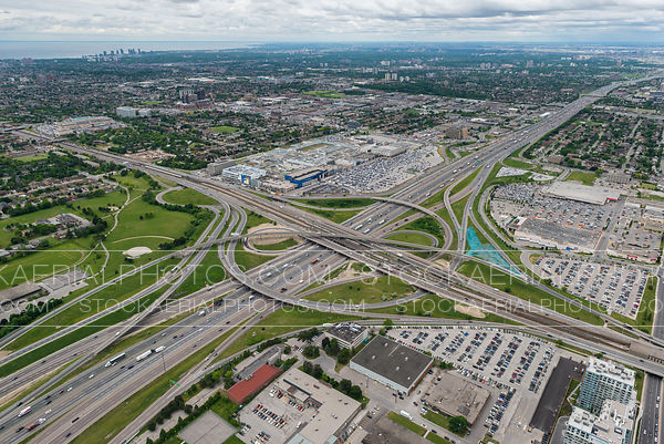 Highway 401 and Allen Road Interchange
