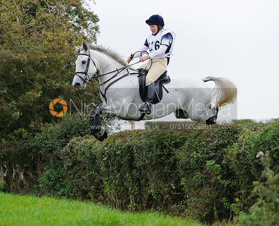 Holly Campbell. The FHSA Hunter Trial 2010 - Intermediate Class