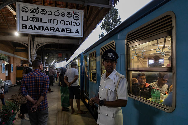 Portrait of the Station Master at Bandarawela
