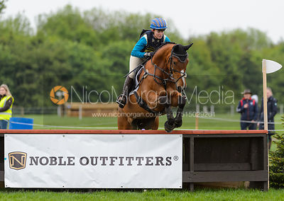 Tina Canton and ALL WRAPED UP - Rockingham International Horse Trials 2017